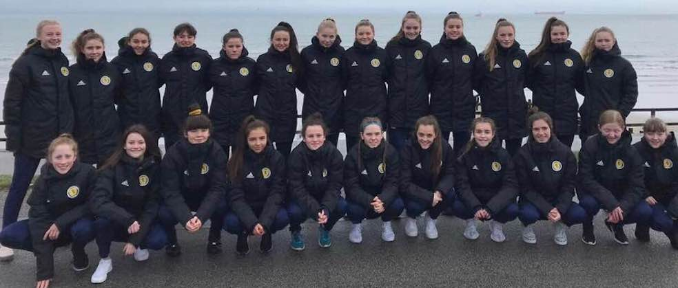 f48d9e5d95 Lewis footballer Rachael Johnstone impressed selectors so much at last  weekend's development training that she's been selected for the Scotland  squad – for ...